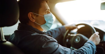 inspeção veicular durante a pandemia